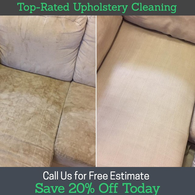 GREEN Upholstery Cleaning Services in NYC